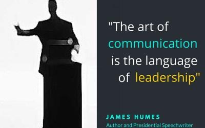 Leadership is Communication…