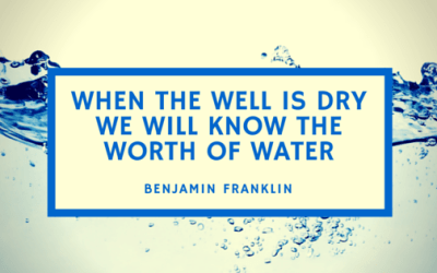 When the Well is Dry …