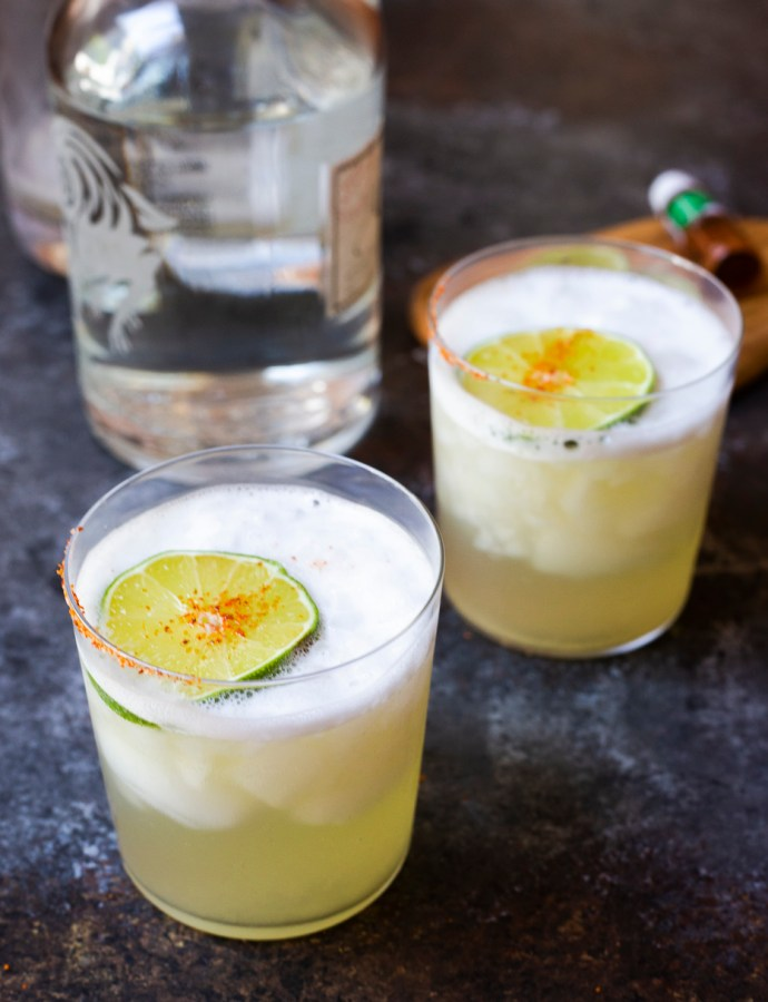 MEZCAL MARGARITA | paleo, no refined sugars
