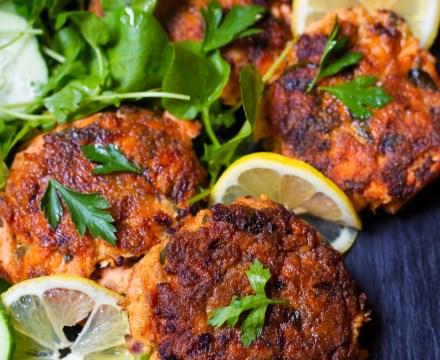 SALMON CAKES | paleo, whole 30
