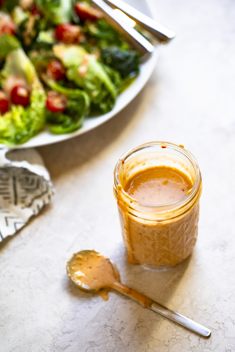 spicy caesar salad dressing
