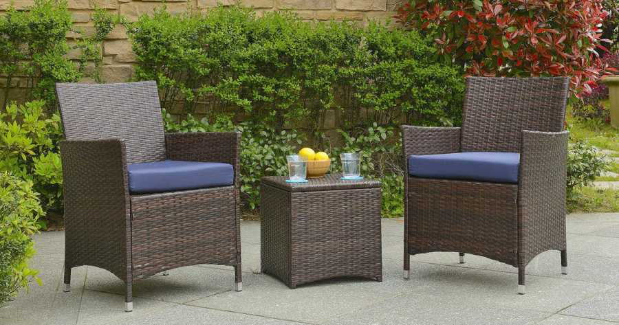 128  Reg  325  Patio Furniture Set   FREE Shipping   Daily Deals     Wayfair has a Minden 3 Piece Conversation Set with Cushions on Sale for   147 99  Reg  325   but NEW Wayfair customers will get a 10  coupon code  when they