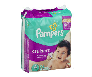 Pampers Cruisers at Walmart