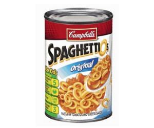 SpaghettiOs at Target