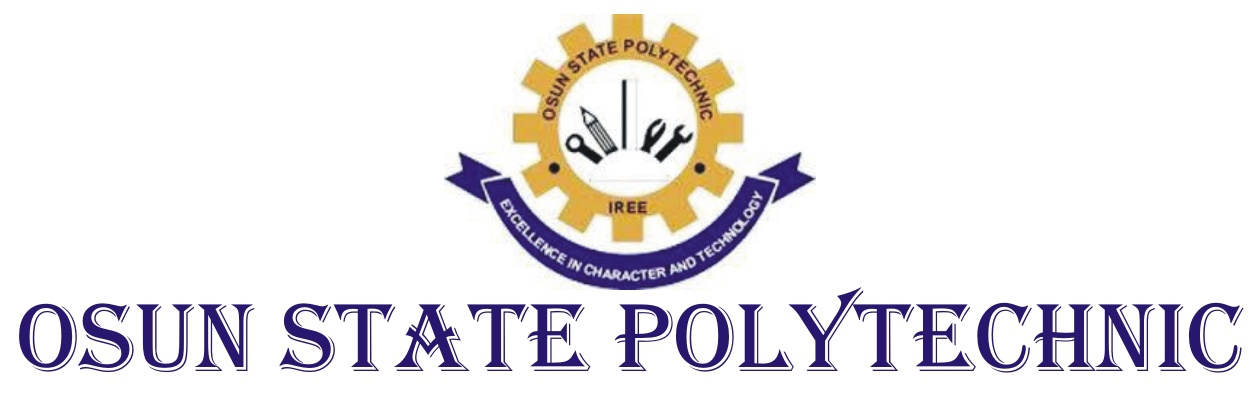 Image result for Osun State Polytechnic, Iree (OSPOLY)