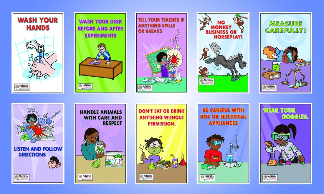 Funny Laboratory Cartoons