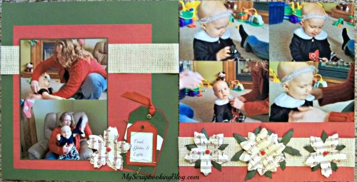 Christmas Layout by Wendy Kessler