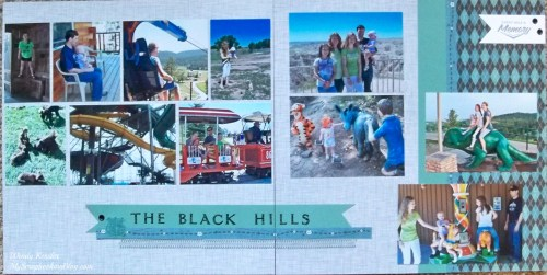 Black Hills Layout by Wendy Kessler