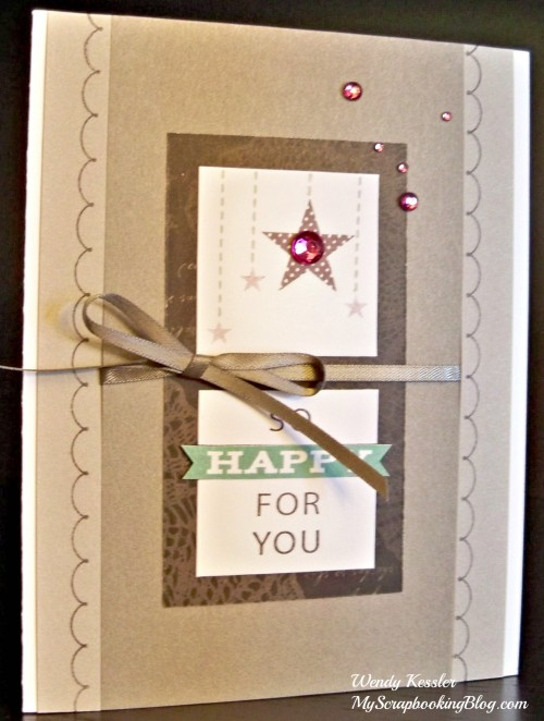 Happy For You Card by Wendy Kessler