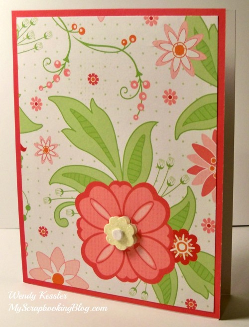 Sophia Card #18 by Wendy Kessler