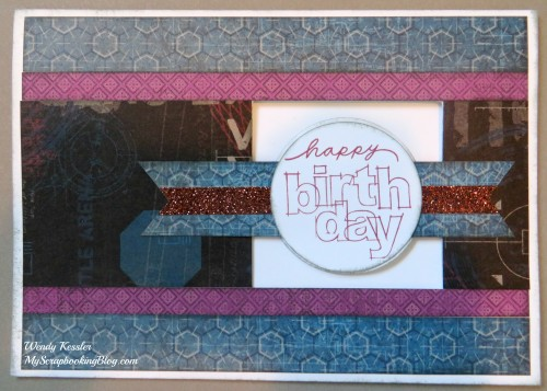 Happy Birthday Spin Card by Wendy Kessler