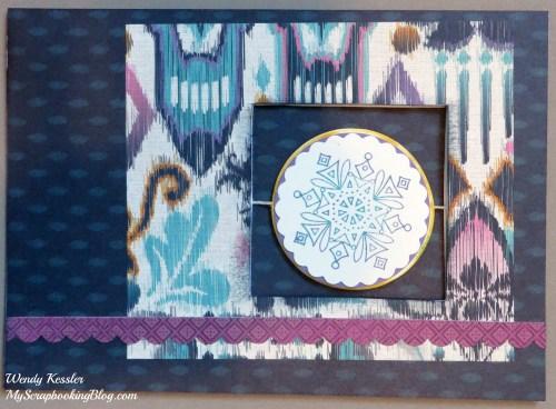 Sarita Snowflake Spin Card by Wendy Kessler