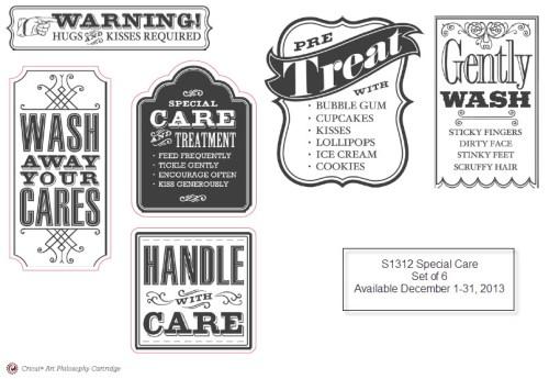 Special Care SOTM - Shop at WendyKessler.CTMH.com