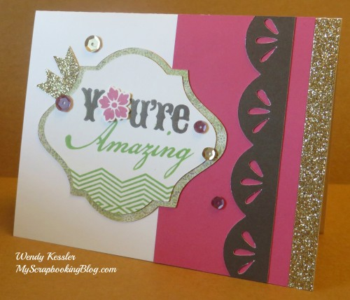 Ivy Lane Card 1 by Wendy Kessler
