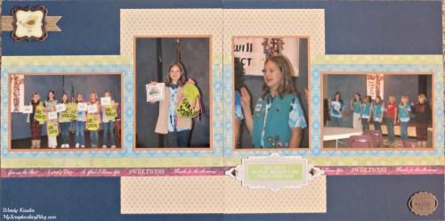 Girl Scout Bridging Layout by Wendy Kessler