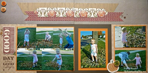 Good Day Fall Layout by Wendy Kessler
