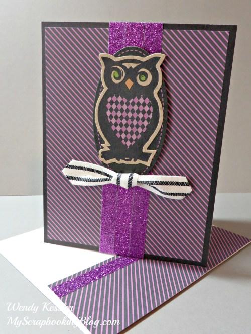 Owl Card by Wendy Kessler