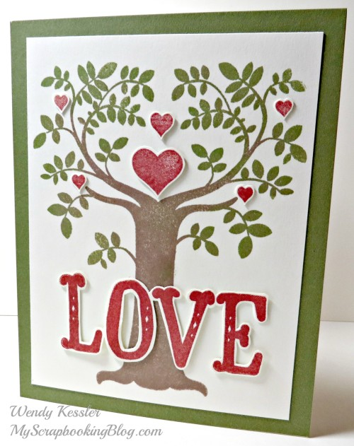 Love Card by Wendy Kessler