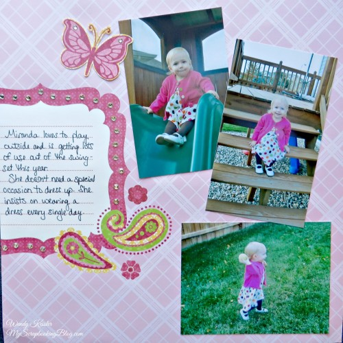 Playtime Layout by Wendy Kessler