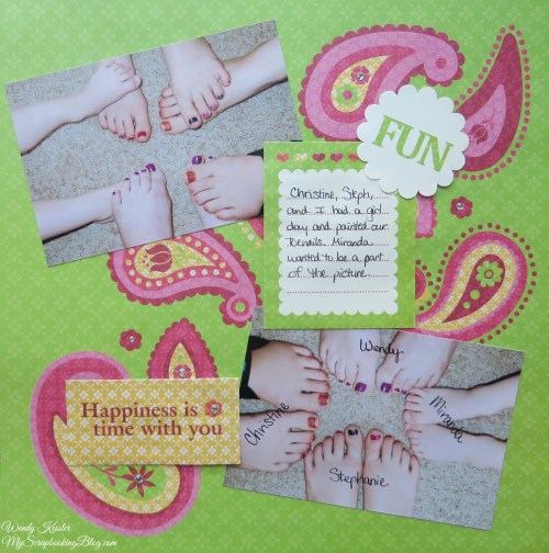 Fun Layout by Wendy Kessler