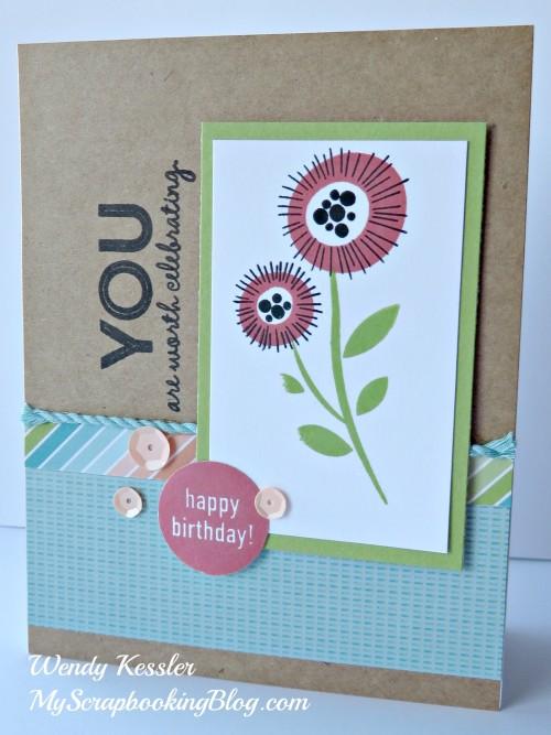 Blossom Card by Wendy Kessler
