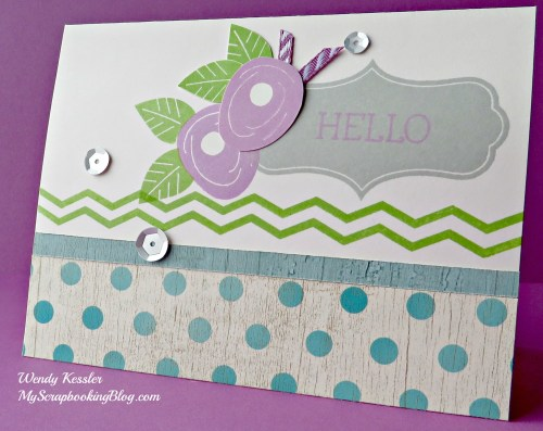 Seaside Card by Wendy Kessler