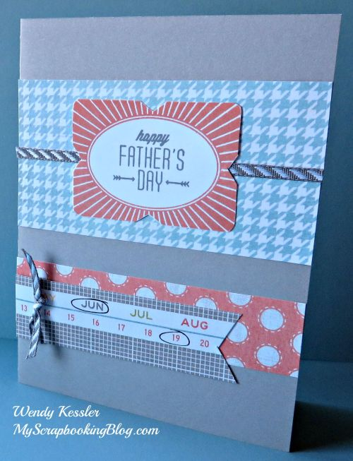 Happy Father's Day card by Wendy Kessler