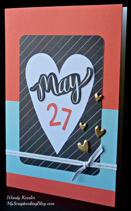May Card by Wendy Kessler