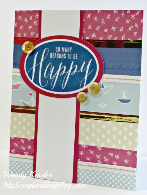 Happy Card by Wendy Kessler