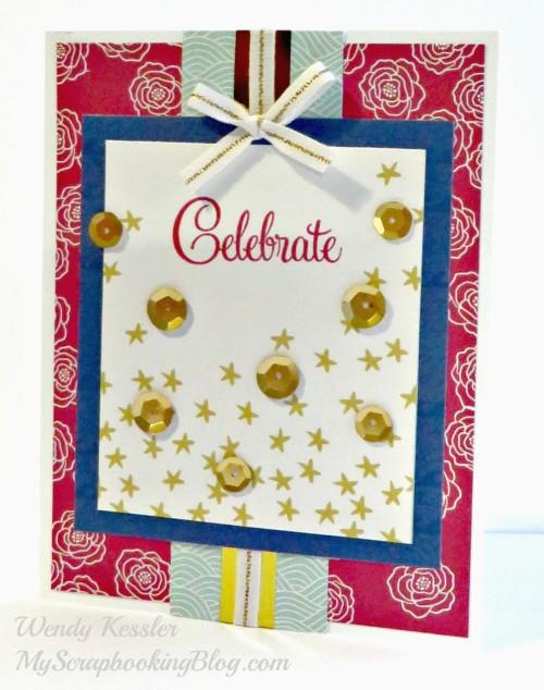 Celebrate Card by Wendy Kessler