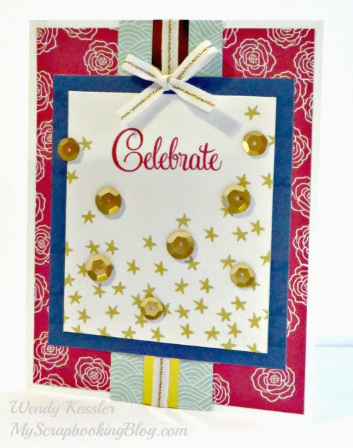 Celebrate Card by Wendy Kessler