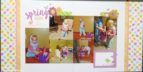 Spring/Easter Layout by Wendy Kessler