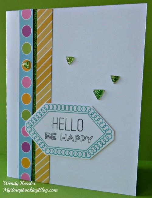 Hello Card by Wendy Kessler