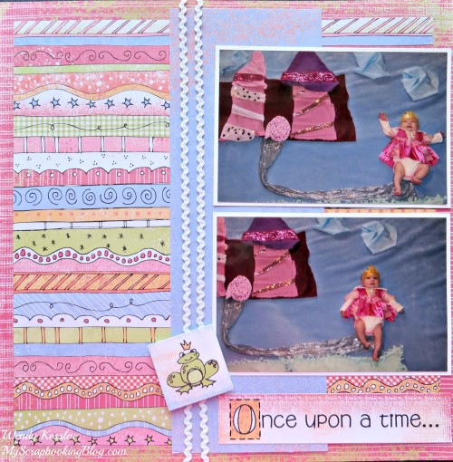 Once Upon a Time Layout by Wendy Kessler