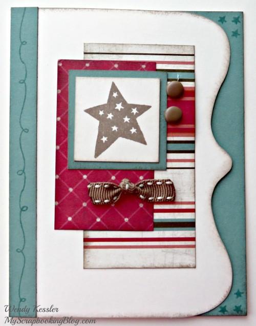 Star Card by Wendy Kessler