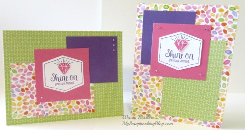 Shine On Cards by Wendy Kessler