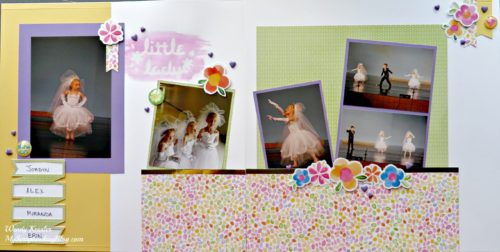 Little Lady Dance Layout by Wendy Kessler
