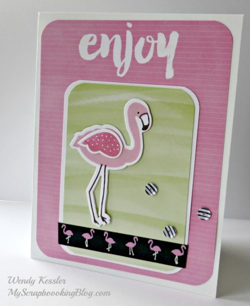 Enjoy Card by Wendy Kessler