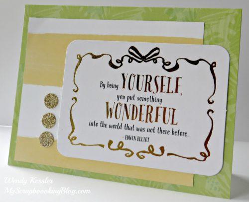 PML Card by Wendy Kessler