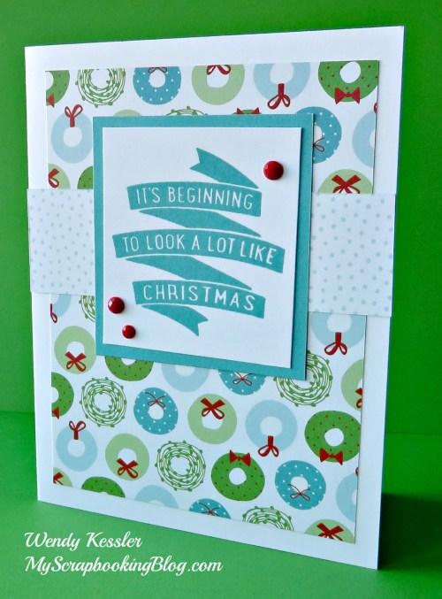 Christmas Card by Wendy Kessler