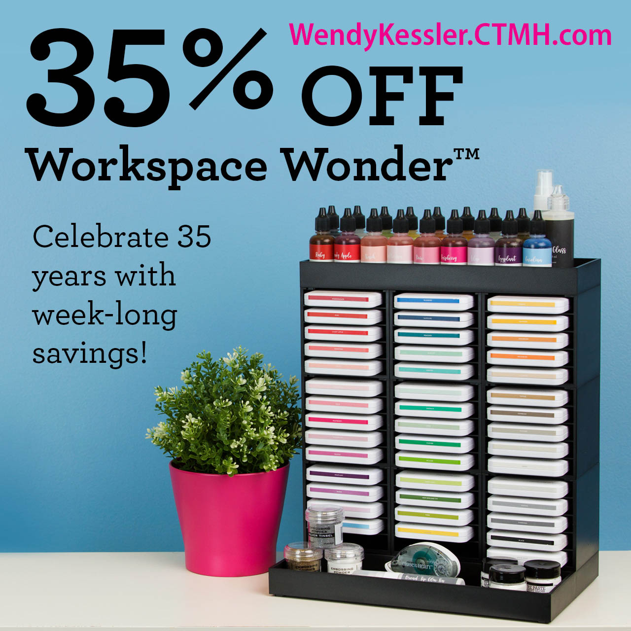 Workspace Wonder Organization Sale!