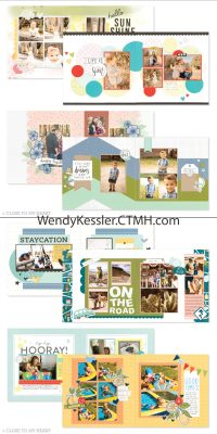 Scrapbooking Subscription Kit