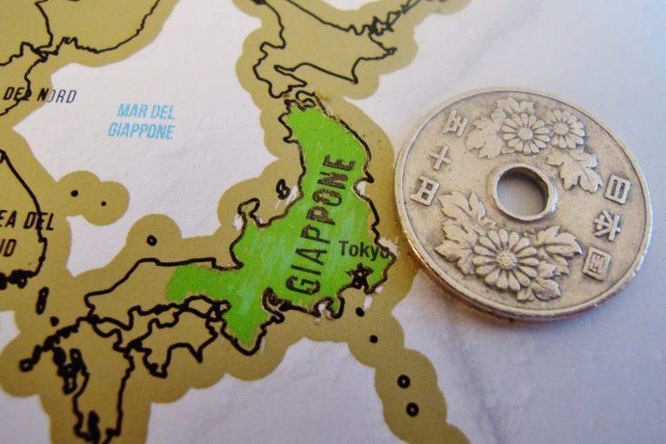 My scratch map giappone da grattare