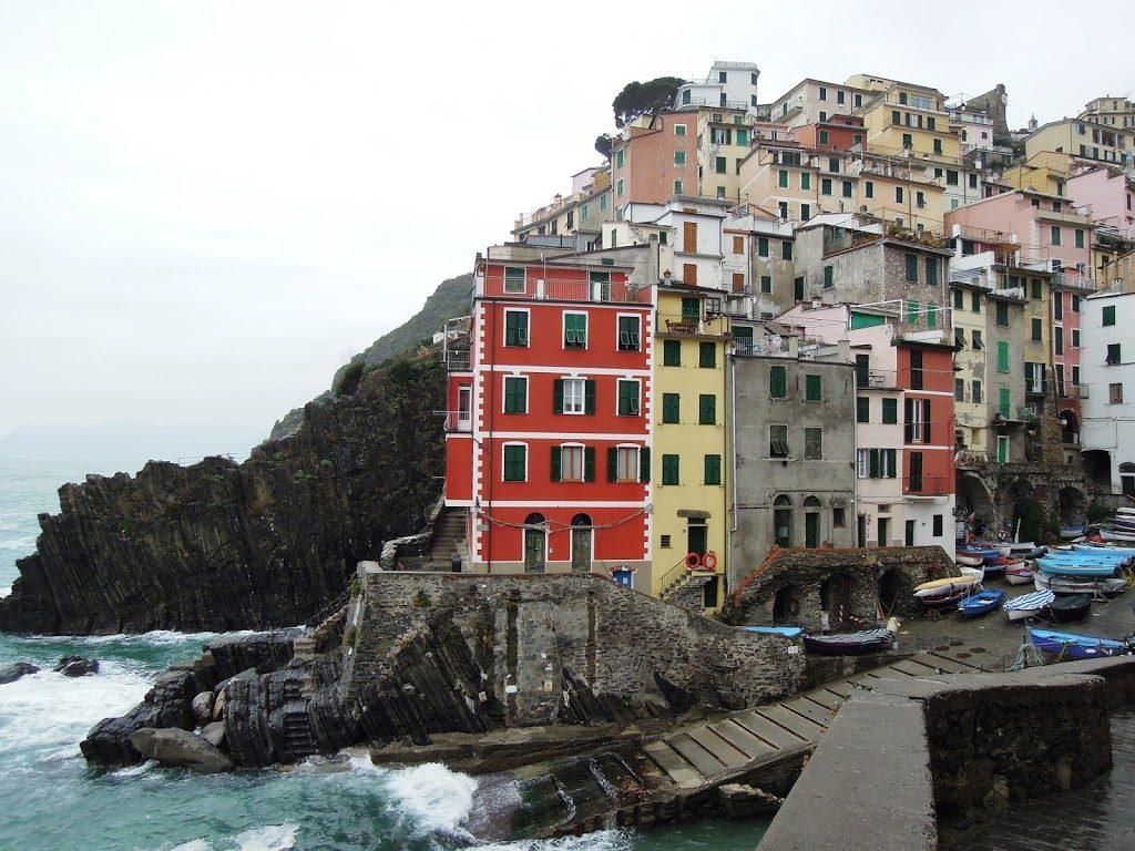 La case colorate di Riomaggiore