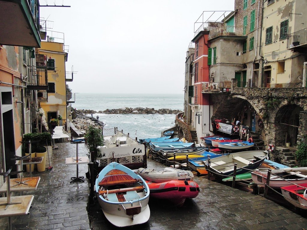 La piccola marina di Riomaggiore