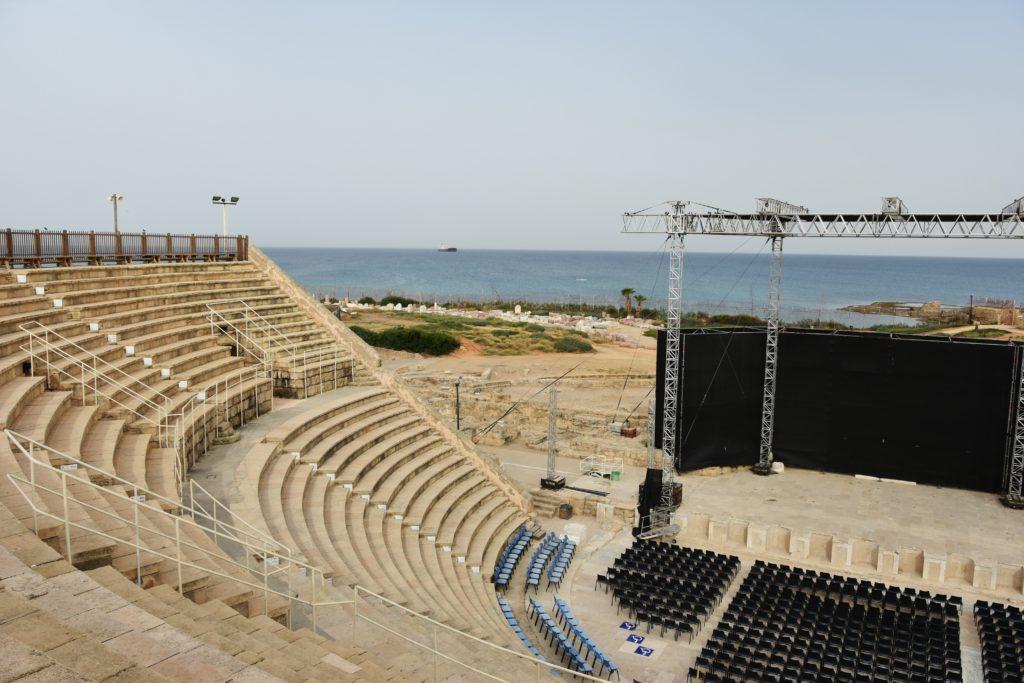 L'Anfiteatro romano di Cesarea