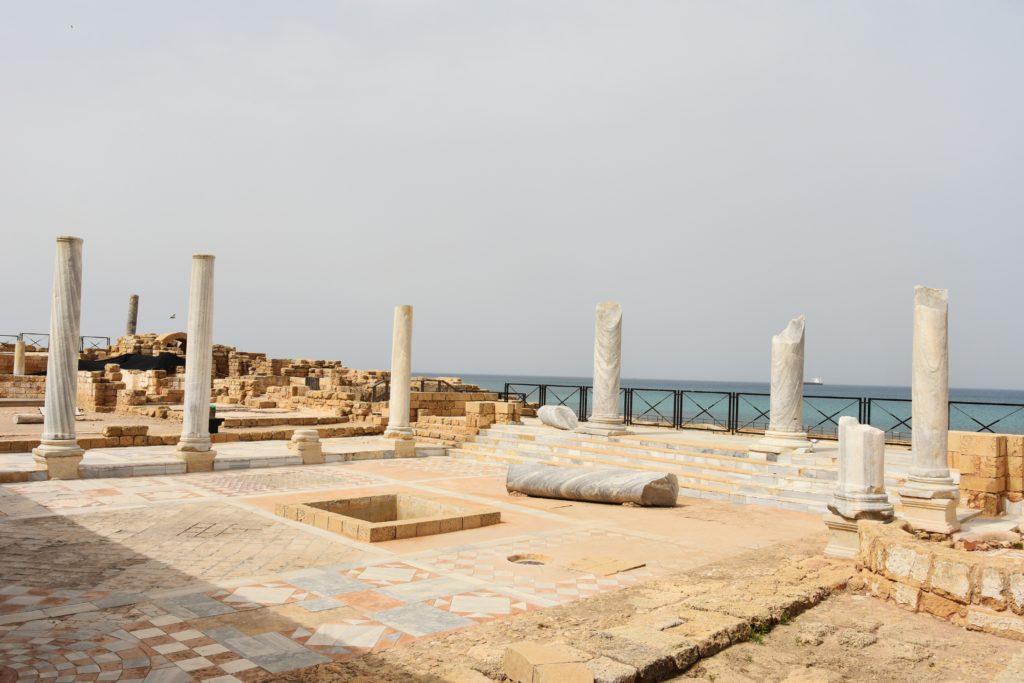 I resti romani di Cesarea