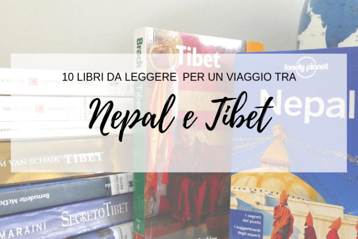 Libri da leggere per un viaggio tra Nepal e Tibet my scratch map