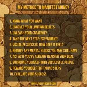 10-step method to manifest money