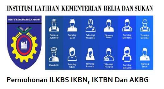 Permohonan ILKBS IKBN, IKTBN Dan AKBG